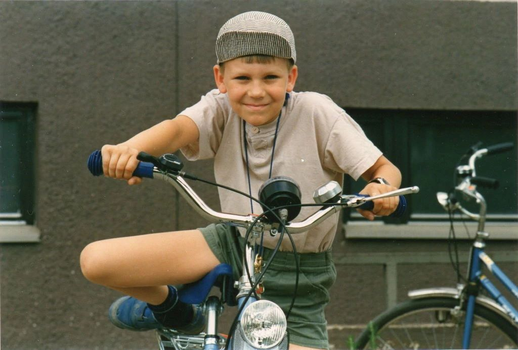 Timo as a child